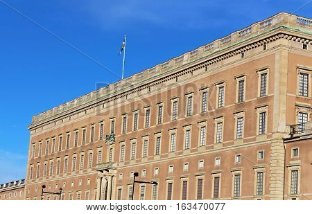 Stockholm's Royal Palace in Gamla Stan, Sweden