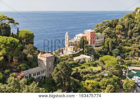 Church Of San Giorgio In Portofino