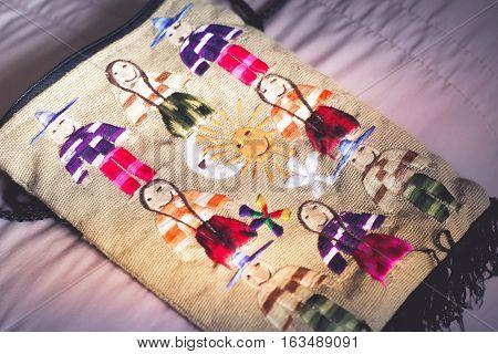Indigenous Handicraft Bag Photograph