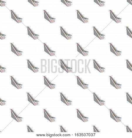 Conveyor belt pattern. Cartoon illustration of conveyor belt vector pattern for web