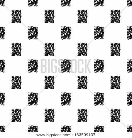 Wrinkled paper pattern. Simple illustration of wrinkled paper vector pattern for web