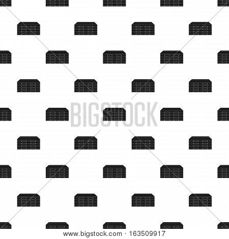 Wooden boards pattern. Simple illustration of wooden boards vector pattern for web
