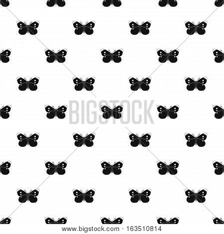 Butterfly with black wings pattern. Simple illustration of butterfly with black wings vector pattern for web