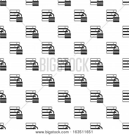 Data protection pattern. Simple illustration of data protection vector pattern for web