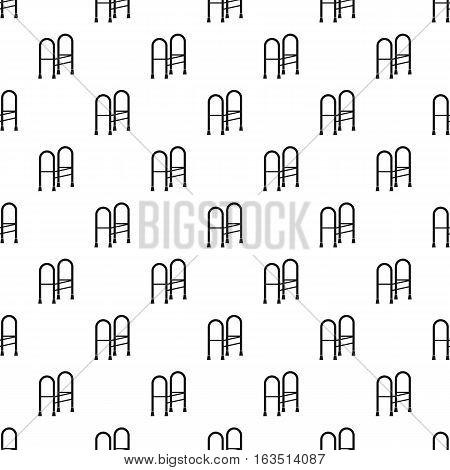 Walker pattern. Simple illustration of walker vector pattern for web