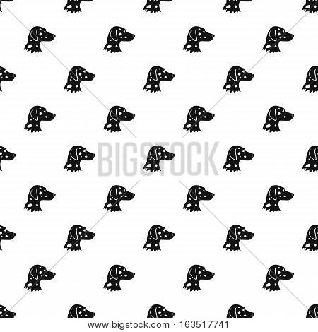Dalmatians dog pattern. Simple illustration of dalmatians dog vector pattern for web