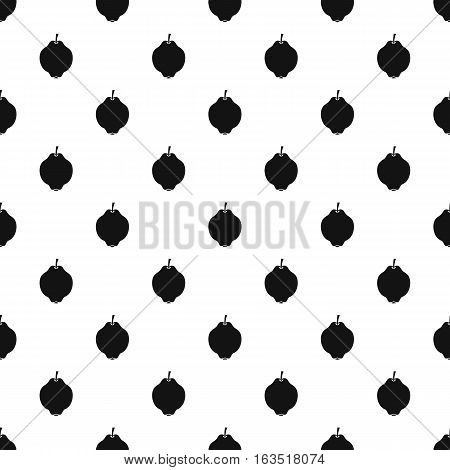 Quince pattern. Simple illustration of quince vector pattern for web