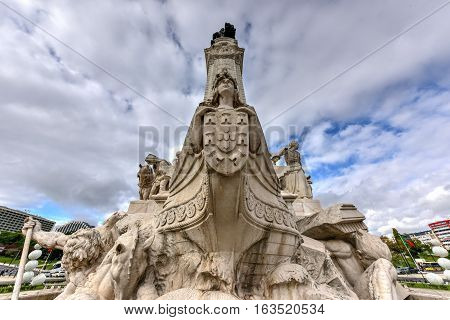 Marquess Of Pombal Square - Lisbon, Portugal