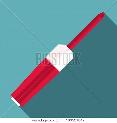 Screwdriver icon. Flat illustration of screwdriver vector icon for web