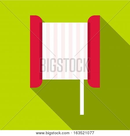 Bobbin icon. Flat illustration of bobbin vector icon for web