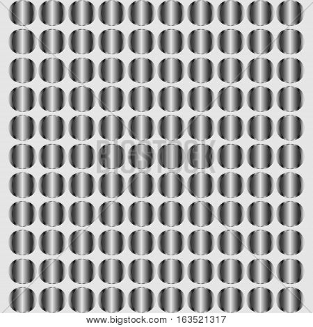 Metal silver steel circle background texture vector Illustration with eps 10