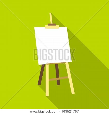 Easel icon. Flat illustration of easel vector icon for web