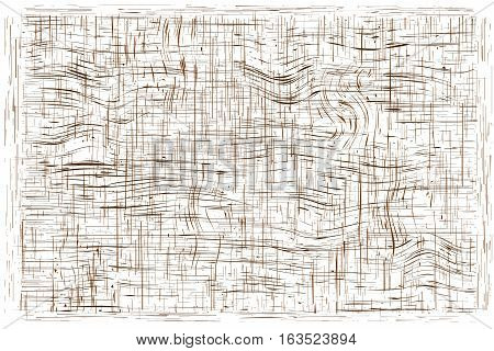 gnarl line pattern texture wooden brown. on white background Vector illustration Eps10