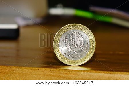 Russian Money - 10 Rubles Coins