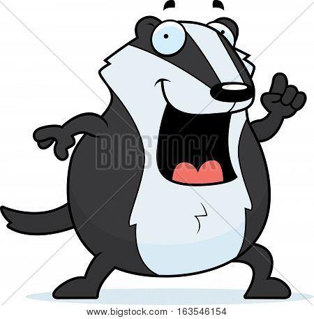 Cartoon Badger Idea