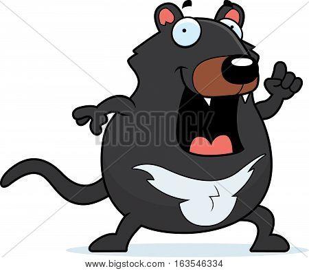 Cartoon Tasmanian Devil Idea