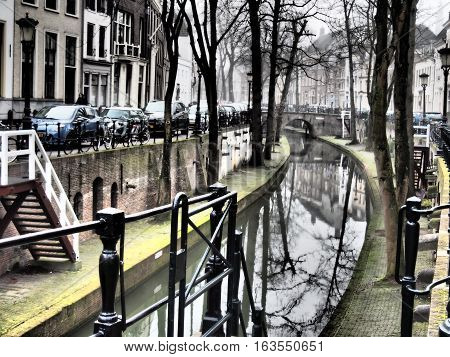 the City of Utrecht in the netherlands