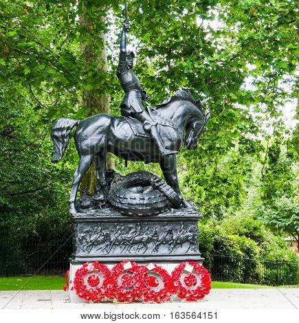 Cavalry of the Empire Memorial, Hyde Park, London