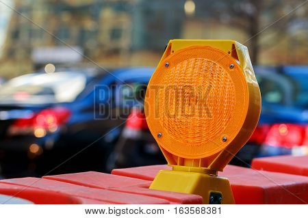 yellow traffic signal warning Yellow Warning Light