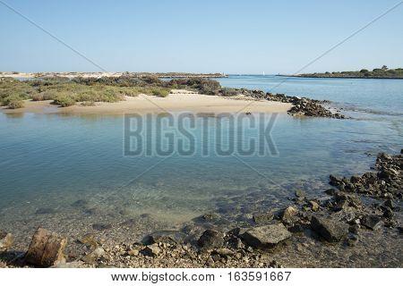 Europe Portugal Algarve Tavira Ria Formosa