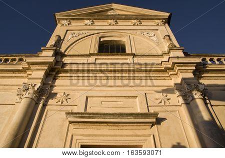Santa Maria Assunta Anguillara Sabazia church facade