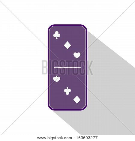Domino Icon Illustration Assorted Three-