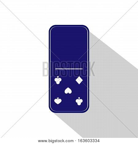 Domino Icon Illustration Assorted Zero - Five