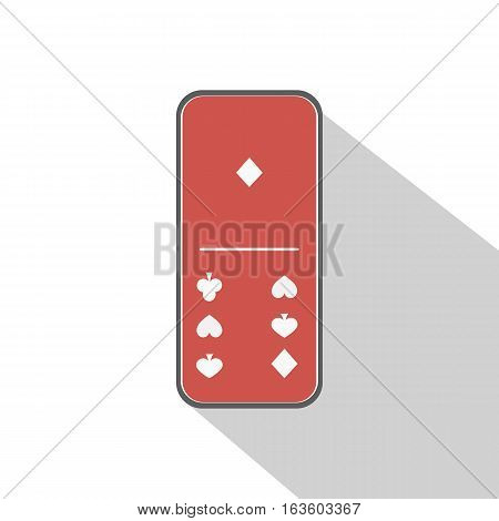 Domino Icon Illustration Assorted One - Six