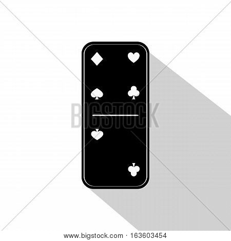 Domino Icon Illustration Assorted Four - Two