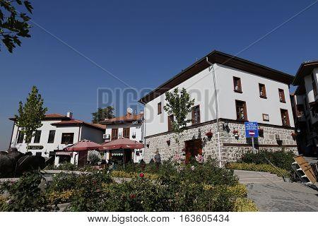 Traditional Turkish Houses In Ankara City
