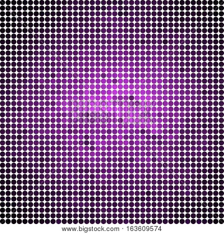 abstract vector colored round dots background - violet