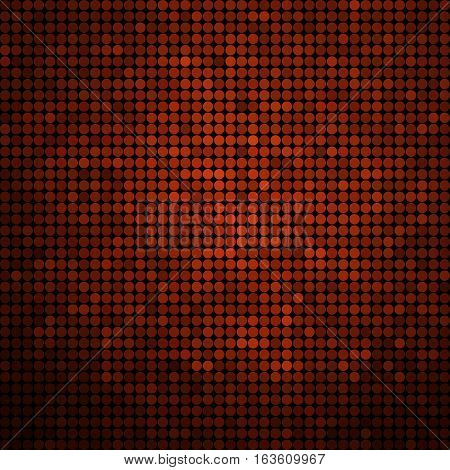 abstract vector colored round dots background - red