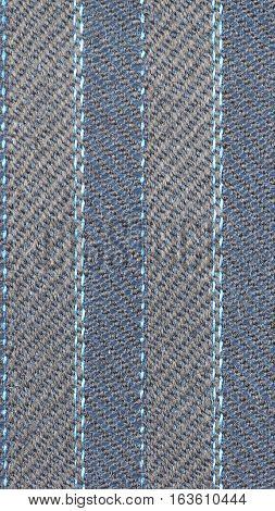 Blue Fabric Background - Vertical