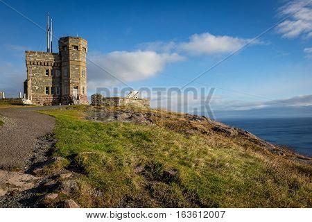 Historic Cabot Tower, Signal Hill, Newfoundland And Labrador
