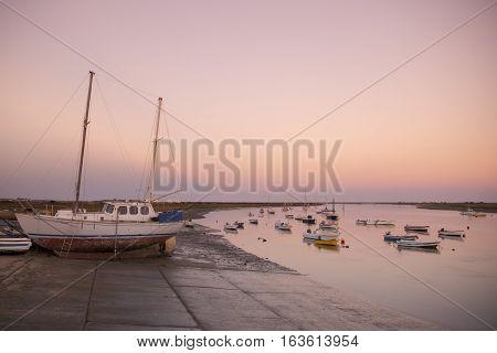 Europe Portugal Algarve Santa Luzia Landscape