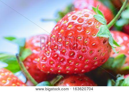 Sweet Strawberry. Fresh strawberry. Red sweet strewberry.