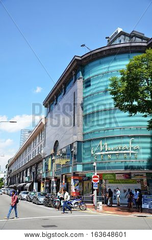 Mustafa Centre At Little India In Singapore