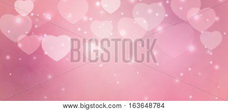Valentine s Day Heart Symbol. Love and Feelings Background Design. Vector illustration EPS10