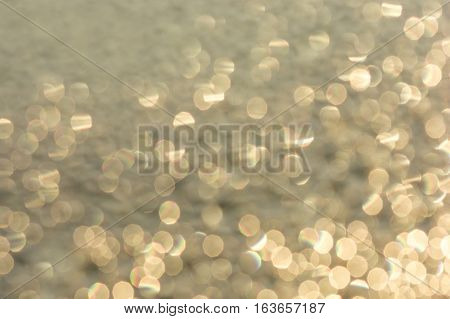 abstract bokeh circles for the background light and blurred boke