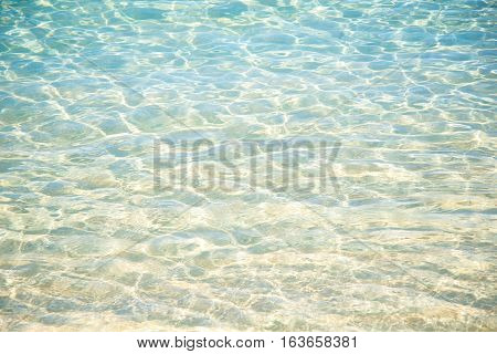 transparent water texture water in sea background