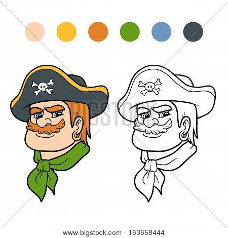 Coloring Book, Pirate