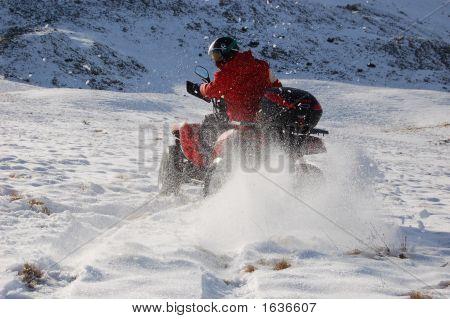 Quad In Snow