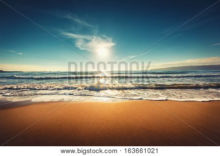 Sunrise On The Beach