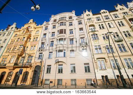 Prague, Czech Republic, Nove Mesto