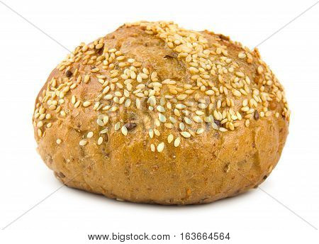 Sweet bread isolated on a white background