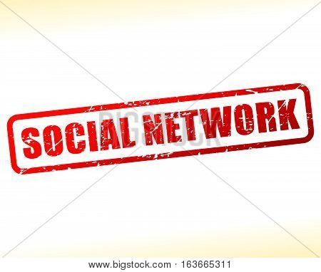 Social Network Text Buffered