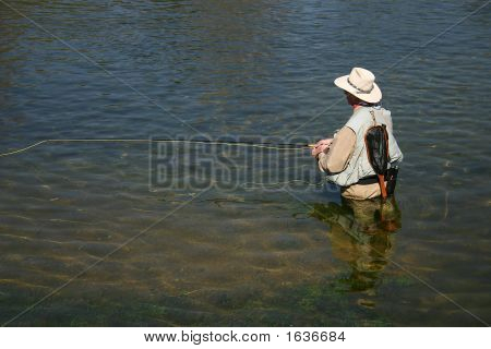 Clear Fishing Water