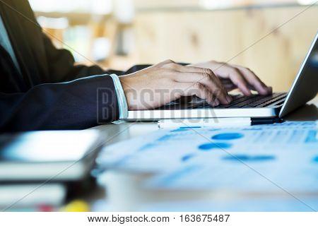 Working Startup Businessman Concept.
