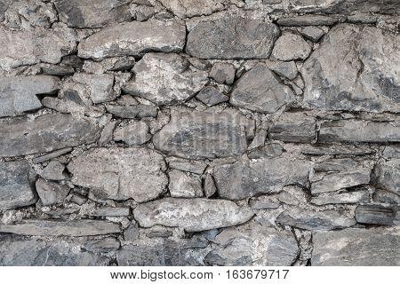 Stone walls, interior wall natural background, modern stone wall, massive stone wall texture