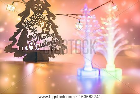 Christmas Tree And Candle Electric